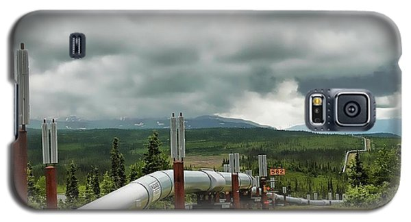 Alaska Pipeline Galaxy S5 Case
