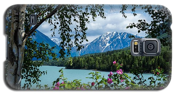 Alaska Through The Trees Galaxy S5 Case