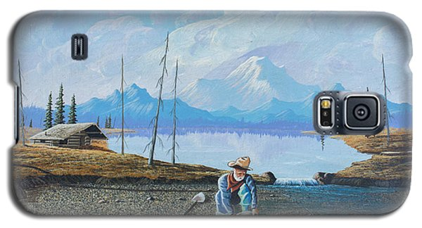 Galaxy S5 Case featuring the painting Alaskan Atm by Richard Faulkner