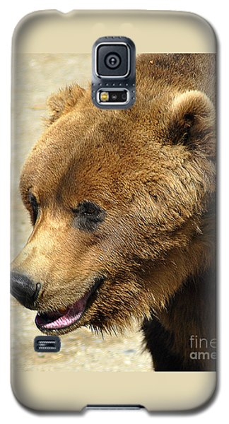 Galaxy S5 Case featuring the photograph Alaskan Brown Bear by Diane E Berry