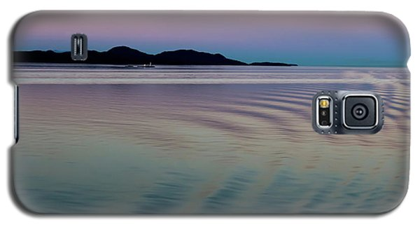 Alaskan Sunset At Sea Galaxy S5 Case