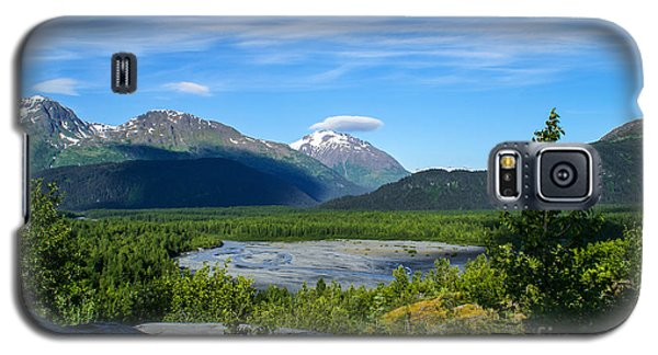 Alaska's Exit Glacier Valley Galaxy S5 Case