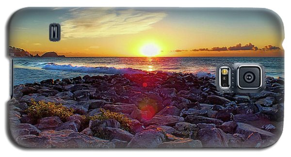Alassio Sunset Galaxy S5 Case