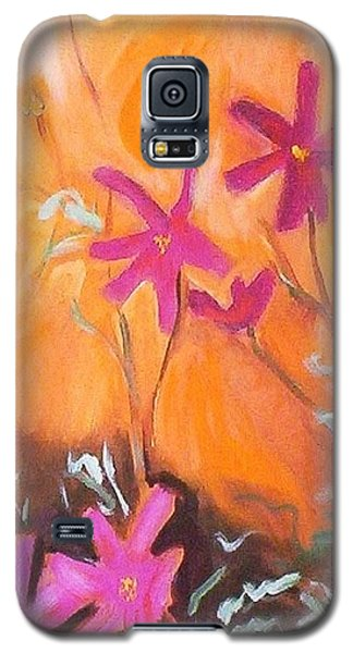 Alba Daisies Galaxy S5 Case by Winsome Gunning