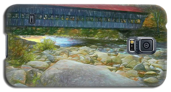 Albany Covered Bridge Nh. Galaxy S5 Case