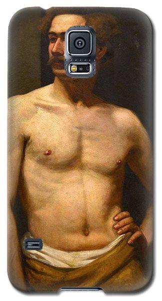 Albert Edelfelt Male Model Galaxy S5 Case