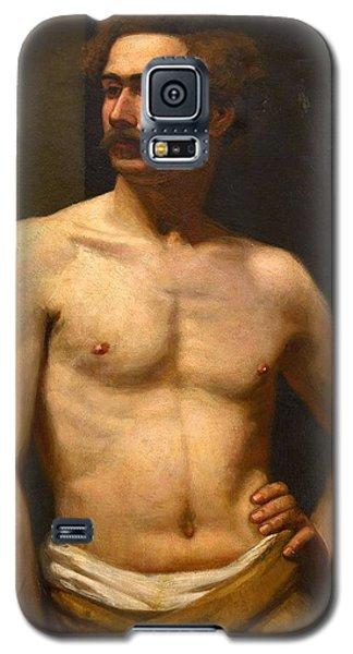 Albert Edelfelt Male Model Galaxy S5 Case
