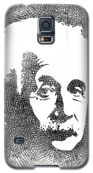 Albert Einstein Bw  Galaxy S5 Case