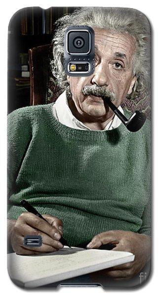 Albert Einstein Galaxy S5 Case