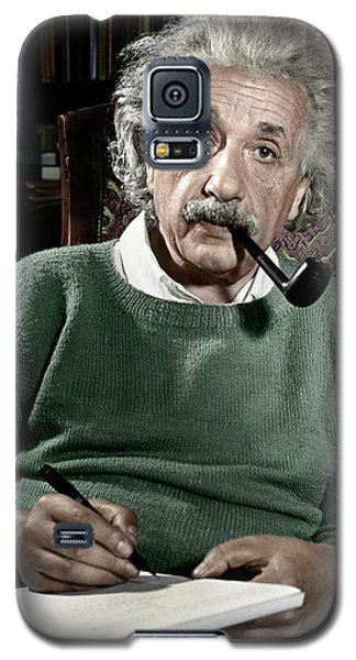 Portraits Galaxy S5 Case - Albert Einstein - To License For Professional Use Visit Granger.com by Granger