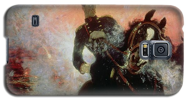Albert I King Of The Belgians In The First World War Galaxy S5 Case by Ilya Efimovich Repin