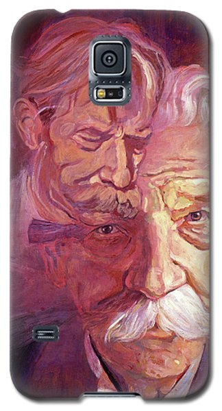 Albert Schweitzer Portrait Galaxy S5 Case