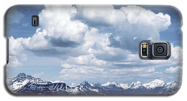Alberta Mountain Panorama Galaxy S5 Case