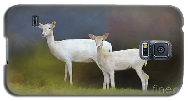 Albino Deer Galaxy S5 Case by Marion Johnson