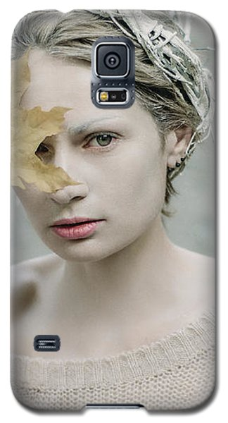 Albino In Forest. Prickle Tenderness Galaxy S5 Case