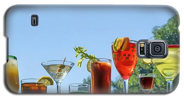Bloody Mary Galaxy S5 Case - Alcoholic Beverages - Outdoor Bar by Nikolyn McDonald