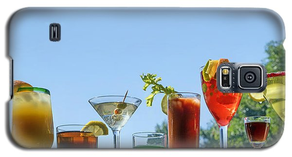 Alcoholic Beverages - Outdoor Bar Galaxy S5 Case