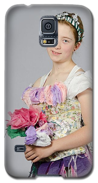 Alegra In Paper Floral Dress Galaxy S5 Case