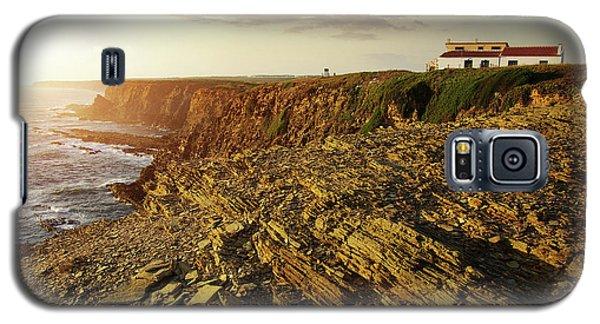 Galaxy S5 Case featuring the photograph Alentejo Cliffs by Carlos Caetano