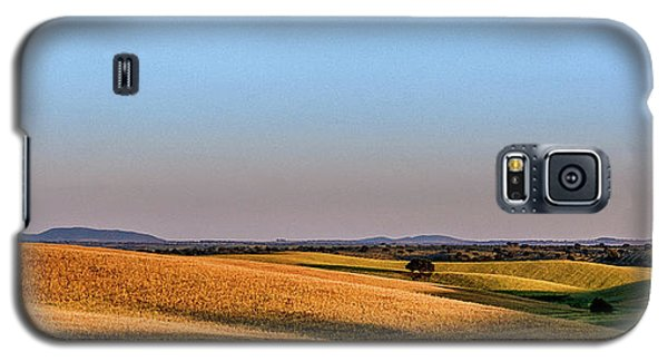 Galaxy S5 Case featuring the photograph Alentejo Fields by Marion McCristall