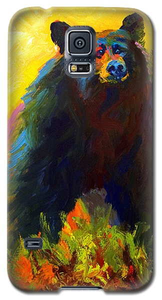Alert - Black Bear Galaxy S5 Case