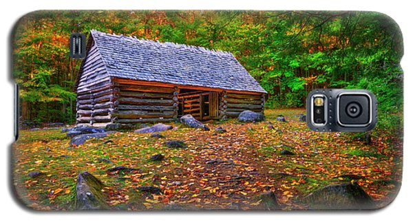 Alex Cole Cabin At Jim Bales Place, Roaring Fork Motor Trail In The Smoky Mountains Tennessee Galaxy S5 Case