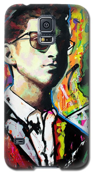 Galaxy S5 Case featuring the painting Alex Turner by Richard Day