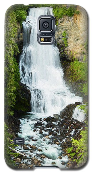 Galaxy S5 Case featuring the photograph Alexander Falls - 2 by Stephen Stookey
