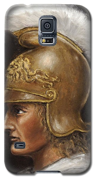 Galaxy S5 Case featuring the painting Alexander The Great by Arturas Slapsys