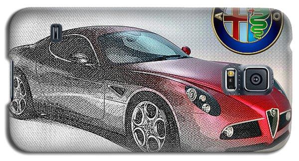 Alfa Romeo 8c Competizione  Galaxy S5 Case by Serge Averbukh