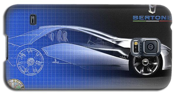 Alfa Romeo Bertone Pandion Concept Galaxy S5 Case by Serge Averbukh