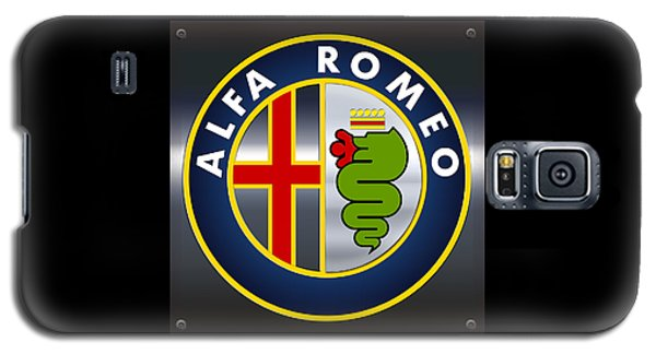 Alfa Romeo Logo Galaxy S5 Case