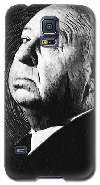 Alfred Hitchcock Galaxy S5 Case by Taylan Apukovska