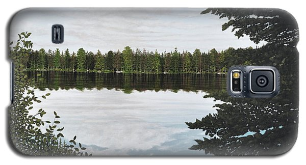 Galaxy S5 Case featuring the painting Algonquin Park by Kenneth M  Kirsch