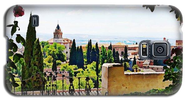 Alhambra Gardens, Digital Paint Galaxy S5 Case