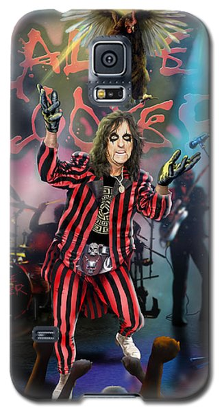 Alice Cooper Galaxy S5 Case by Don Olea