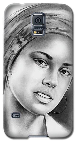 Rhythm And Blues Galaxy S5 Case - Alicia Keys 2 by Greg Joens