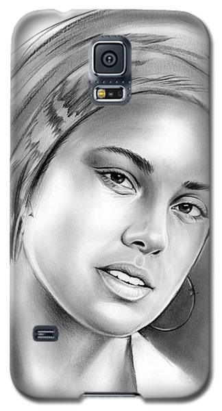 Rhythm And Blues Galaxy S5 Case - Alicia Keys by Greg Joens