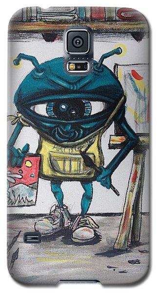 Alien Artist Galaxy S5 Case