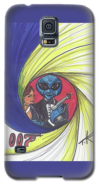 alien Bond Galaxy S5 Case