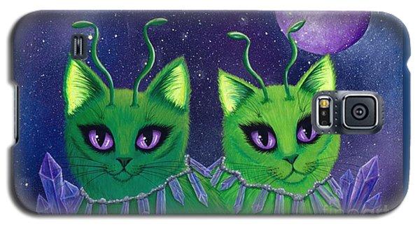 Alien Cats Galaxy S5 Case