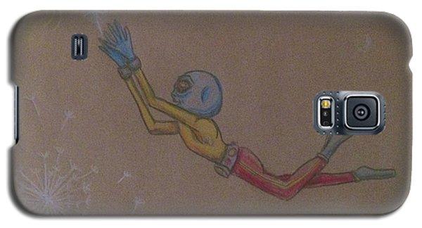 Alien Chasing His Dreams Galaxy S5 Case