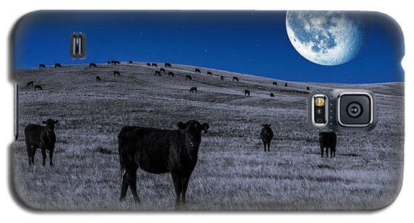 Alien Cows Galaxy S5 Case