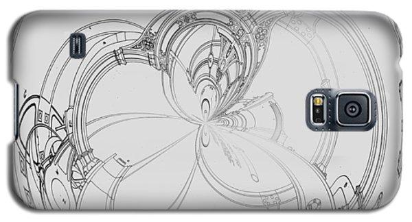 Alien Flywheel Galaxy S5 Case