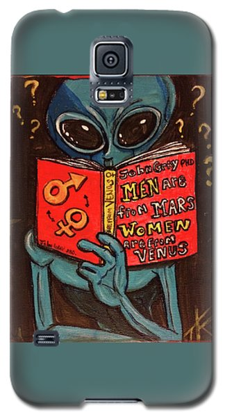 Alien Looking For Answers About Love Galaxy S5 Case