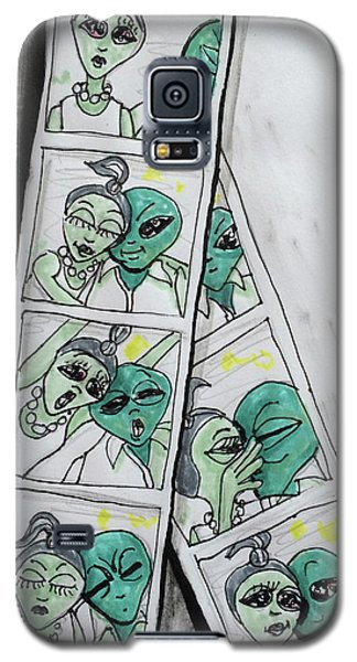alien Photo Booth  Galaxy S5 Case