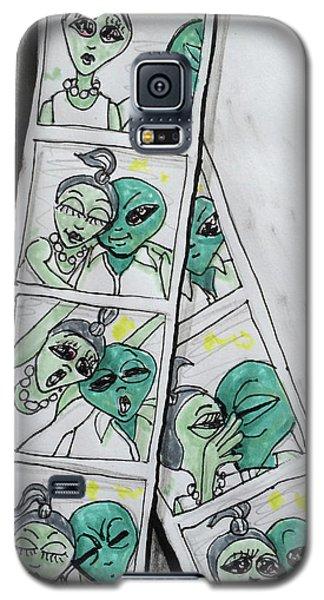 alien Photo Booth  Galaxy S5 Case