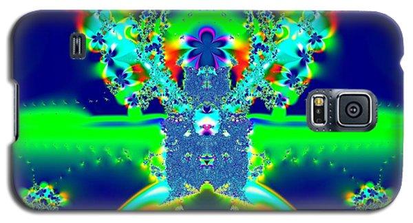 Alien Poodle Fractal 96 Galaxy S5 Case