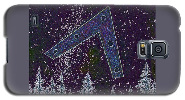 Galaxy S5 Case featuring the painting Alien Skies Ufo by James Williamson
