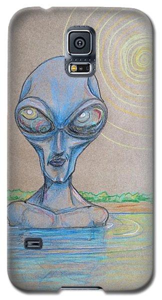 Alien Submerged Galaxy S5 Case by Similar Alien